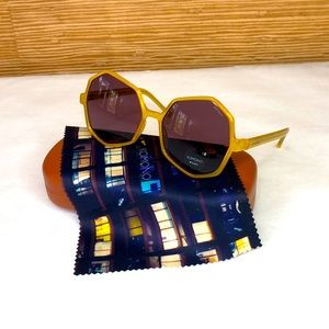 KOMONO Bonnie Milky Honey Sunglasses (NEW)